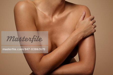 Close up of beautiful mature woman upper body Stock Photo - Rights-Managed, Image code: 847-03862670