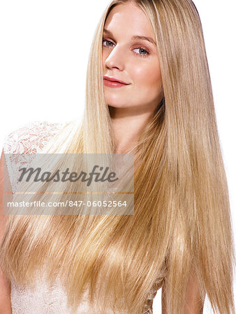 Portrait of a beautiful blonde girl Stock Photo - Rights-Managed, Image code: 847-06052564