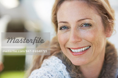 Beautiful mature woman Stock Photo - Rights-Managed, Image code: 847-06540721