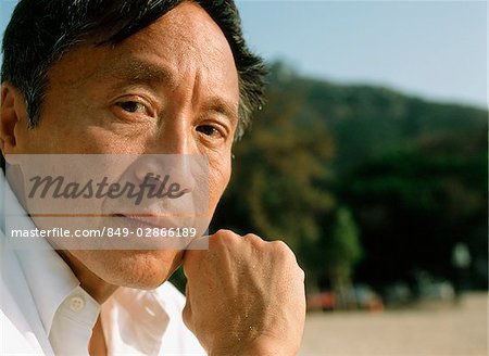 Mature man outdoors, portrait Stock Photo - Rights-Managed, Image code: 849-02866189