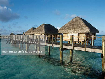 The lagoon,Bora Bora,French Polynesia Stock Photo - Rights-Managed, Image code: 851-02962695