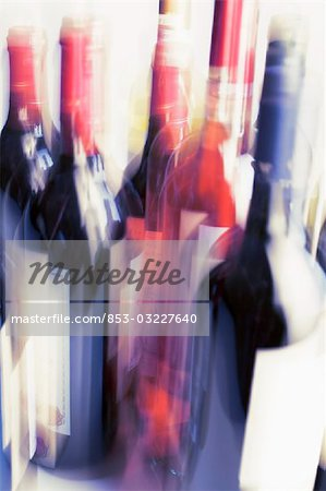 Bottles of wine Stock Photo - Rights-Managed, Image code: 853-03227640