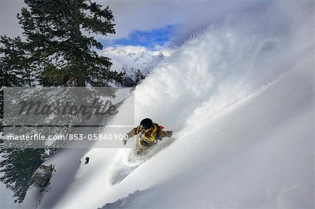 Snowboarder Stock Photo - Rights-Managed, Image code: 853-05840900