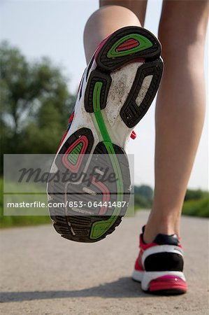 Trainers, close-up Stock Photo - Rights-Managed, Image code: 853-06441487