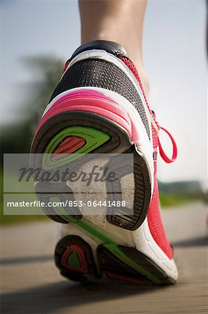 Trainers, close-up Stock Photo - Rights-Managed, Image code: 853-06441488