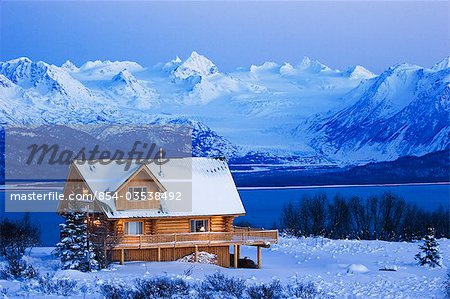 Log homes alaska and montana on pinterest for Alaska log home builders