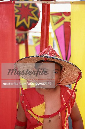 Kadayawan Festival dancers Stock Photo - Rights-Managed, Image code: 855-02987149