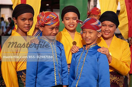 Tausug Tribespeople Stock Photo - Rights-Managed, Image code: 855-02987150