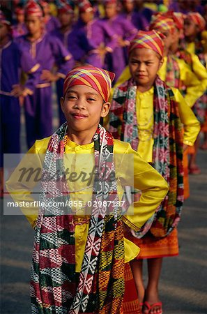 Yakan Tribespeople Stock Photo - Rights-Managed, Image code: 855-02987187