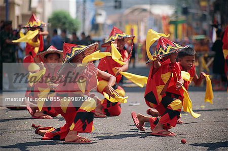 Kadayawan Festival Dancers Stock Photo - Rights-Managed, Image code: 855-02987189
