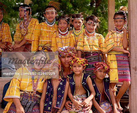 Bagobos Tribes people Stock Photo - Rights-Managed, Image code: 855-02987229