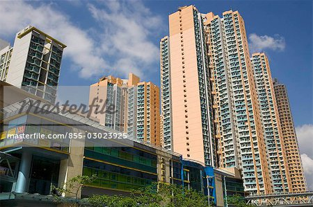 Housing in Shaukeiwan,Hong Kong Stock Photo - Rights-Managed, Image code: 855-03023925