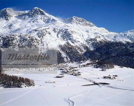 Grindelwald valley, Switzerland Stock Photo - Rights-Managed, Image code: 855-03255196