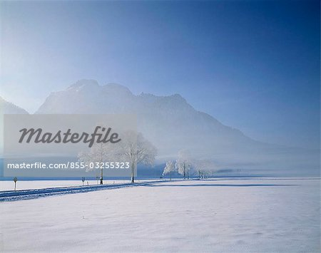 Bavaria in snow, Germany Stock Photo - Rights-Managed, Image code: 855-03255323