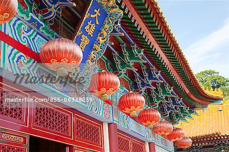 Western monastery, Lo Wai, Tsuen Wan, Hong Kong Stock Photo - Rights-Managed, Image code: 855-06338239