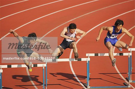 Hurdle Race Stock Photo - Rights-Managed, Image code: 858-03049107
