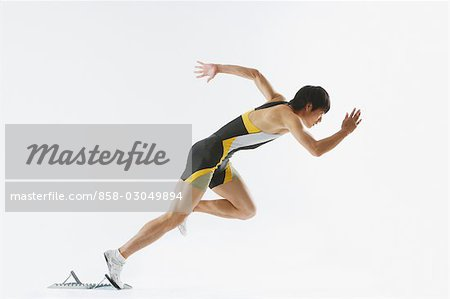 Sprinter Stock Photo - Rights-Managed, Image code: 858-03049894
