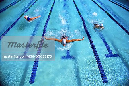 Swimming (Butterfly Stroke)