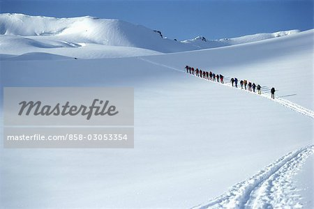 Cross Country Skiing Stock Photo - Rights-Managed, Image code: 858-03053354