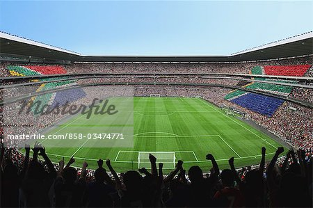 Soccer Pitch Stock Photo - Rights-Managed, Image code: 858-03474771