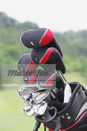 Golf Club Stock Photo - Rights-Managed, Image code: 858-03694292