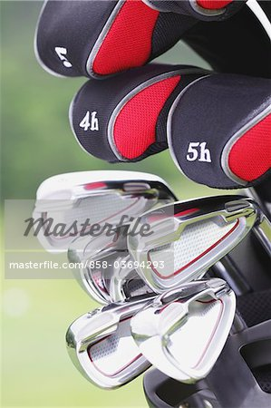 Golf Club Stock Photo - Rights-Managed, Image code: 858-03694293