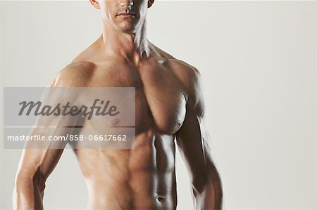 Body Builder Stock Photo - Rights-Managed, Image code: 858-06617662