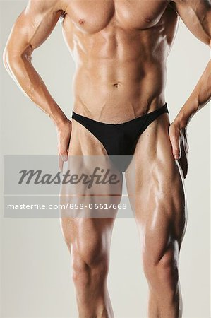 Body Builder Stock Photo - Rights-Managed, Image code: 858-06617668