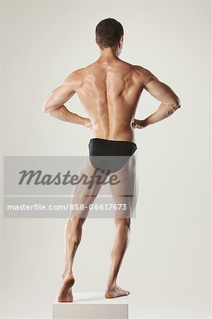 Body Builder Stock Photo - Rights-Managed, Image code: 858-06617673