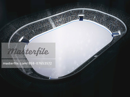 Ice Skating Rink Stock Photo - Rights-Managed, Image code: 858-07653572