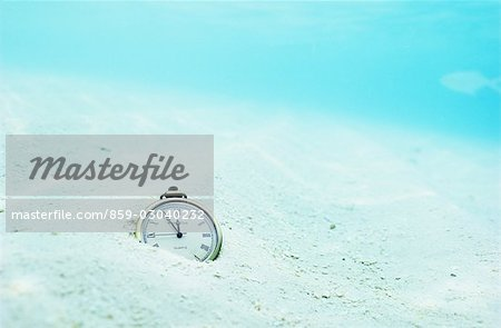 Pocketwatch on Ocean Floor Stock Photo - Rights-Managed, Image code: 859-03040232