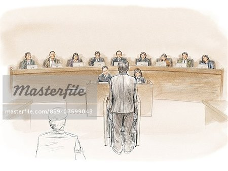 The Court Of Justice Stock Photo - Rights-Managed, Image code: 859-03599043
