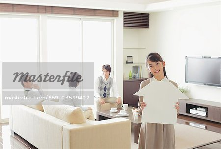 Relaxing Family Stock Photo - Rights-Managed, Image code: 859-03599402