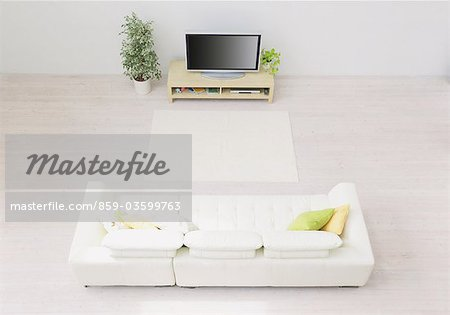 Living Room Stock Photo - Rights-Managed, Image code: 859-03599763