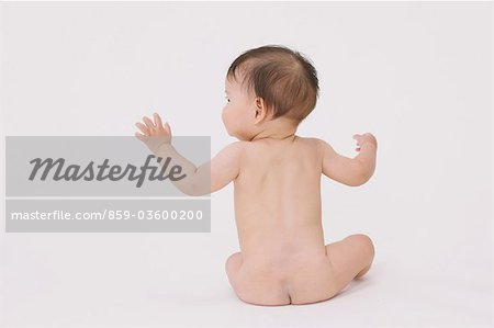 Sitting Baby Stock Photo - Rights-Managed, Image code: 859-03600200