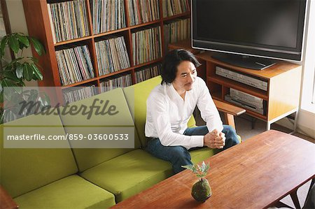 Businessman In Meeting Stock Photo - Rights-Managed, Image code: 859-03600533