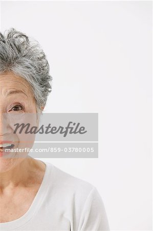 Portrait Of A Senior Adult Woman Stock Photo - Rights-Managed, Image code: 859-03780005