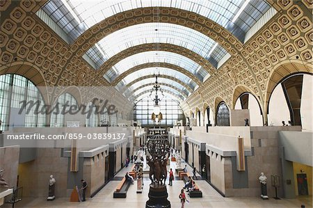 Orsay Museum,France Stock Photo - Rights-Managed, Image code: 859-03839137