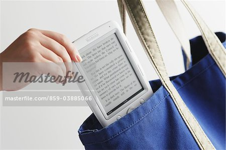 Digital book Stock Photo - Rights-Managed, Image code: 859-03885066