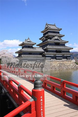 Matsumoto Castle, Nagano Prefecture, Japan Stock Photo - Rights-Managed, Image code: 859-06380297