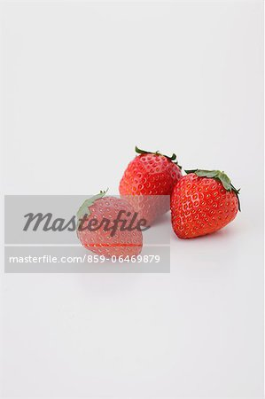 Strawberries Stock Photo - Rights-Managed, Image code: 859-06469879