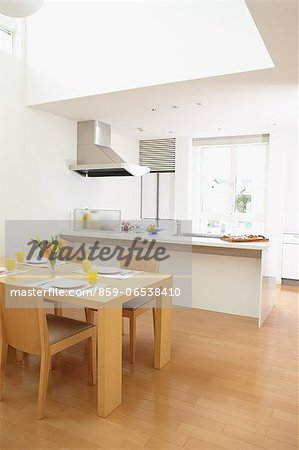 Eat in kitchen Stock Photo - Rights-Managed, Image code: 859-06538410