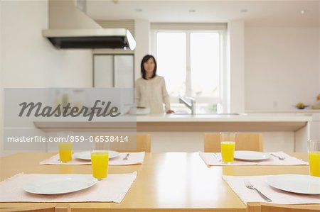 Eat in kitchen Stock Photo - Rights-Managed, Image code: 859-06538414