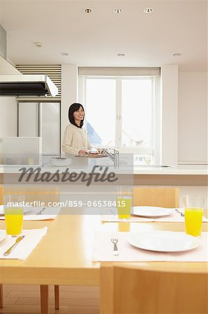 Eat in kitchen Stock Photo - Rights-Managed, Image code: 859-06538415