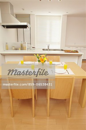 Eat in kitchen Stock Photo - Rights-Managed, Image code: 859-06538431