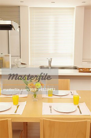 Eat in kitchen Stock Photo - Rights-Managed, Image code: 859-06538432