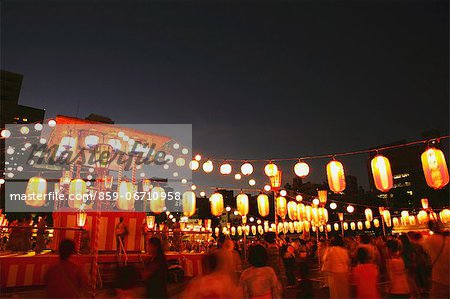 Japanese Summer festival Stock Photo - Rights-Managed, Image code: 859-06710958
