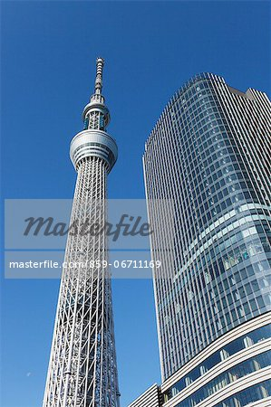 Tokyo Sky Tree Stock Photo - Rights-Managed, Image code: 859-06711169