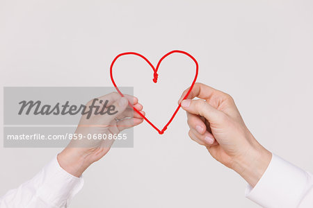 Hands and heart Stock Photo - Rights-Managed, Image code: 859-06808655