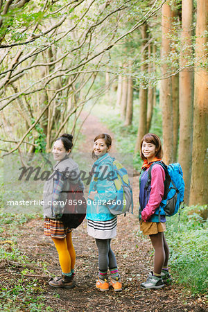 Girls in the mountains Stock Photo - Rights-Managed, Image code: 859-06824608